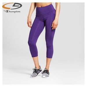 C9 Champion® Laser Cut Capri Leggings